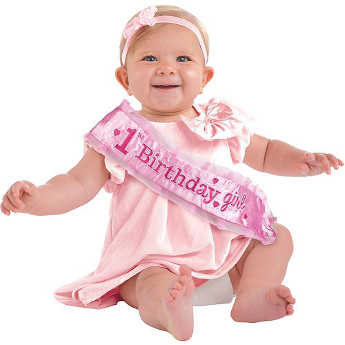 Pink Twinkle Twinkle Little Star 1st Birthday Deluxe Party Kit for 32 Guests Image #14
