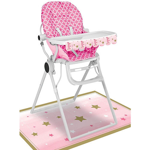 Pink Twinkle Twinkle Little Star 1st Birthday Deluxe Party Kit for 32 Guests Image #16