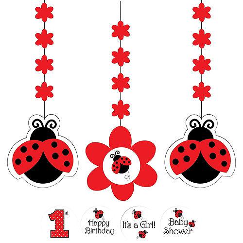Fancy Ladybug 1st Birthday Decorating Kit Image #3