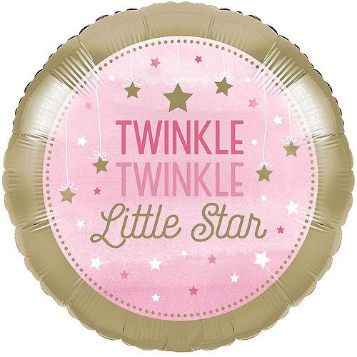 Pink Twinkle Twinkle Little Star Balloon Kit Image #2