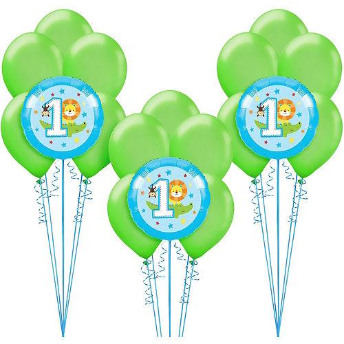 Blue One is Fun 1st Birthday Balloon Kit Image #1