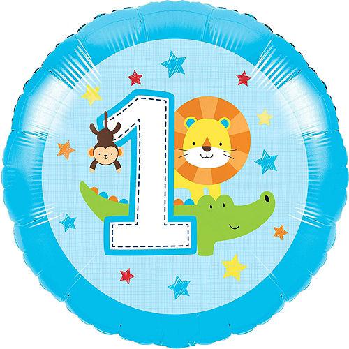 Blue One is Fun 1st Birthday Balloon Kit Image #2