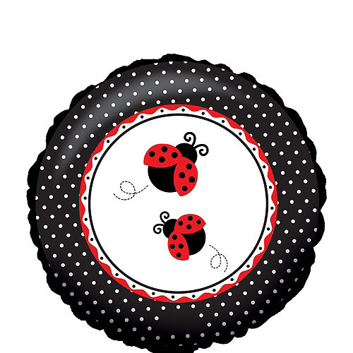 Nav Item for Fancy Ladybug 1st Birthday Balloon Bouquet Image #4