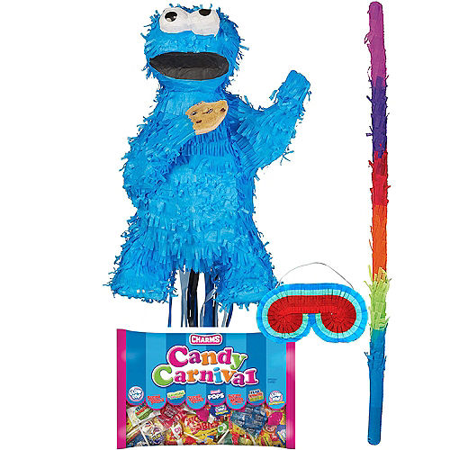Cookie Monster Pinata Kit Image #1
