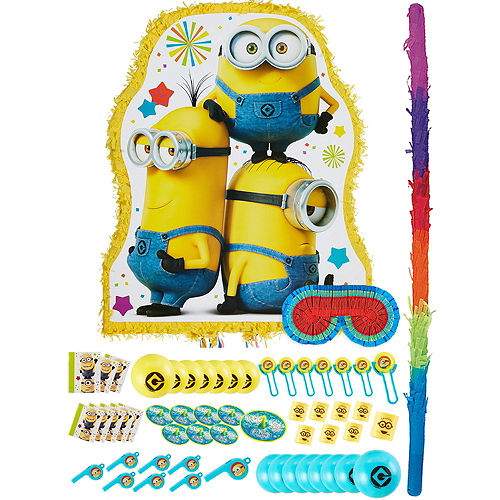 Minion Pinata Kit with Favors Image #1