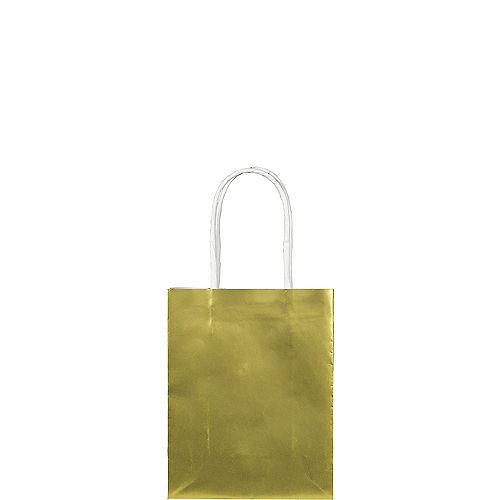 Small Metallic Gold Kraft Bags 24ct Image #1
