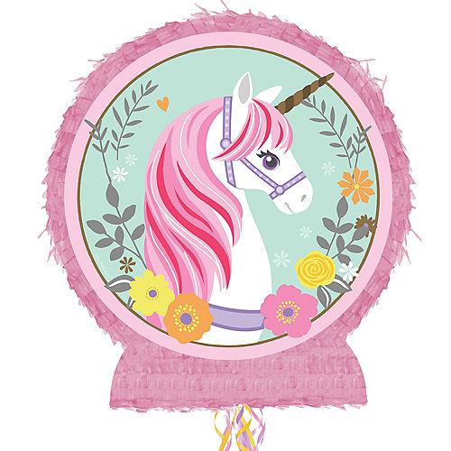 Pull String Magical Unicorn Pinata Image #1