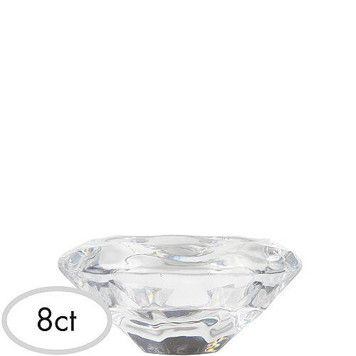Diamond Tealight Candle Holders 8ct Image #1
