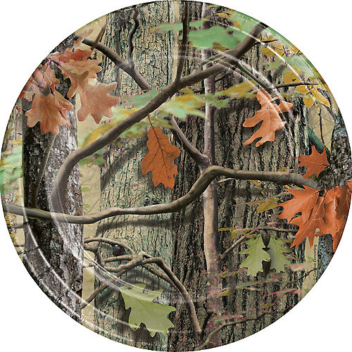 Hunting Camo Lunch Plates 8ct Image #1