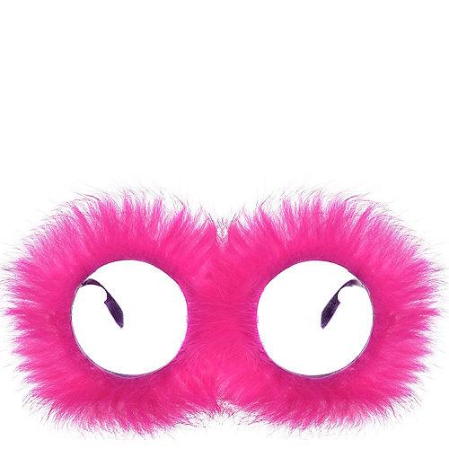 Pink Fur Glasses Image #1