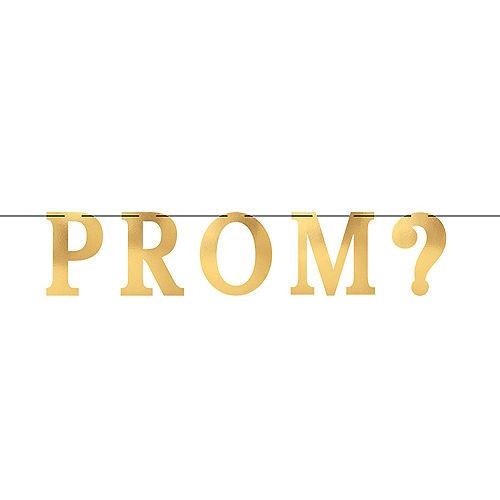Metallic Prom Letter Banner Image #1