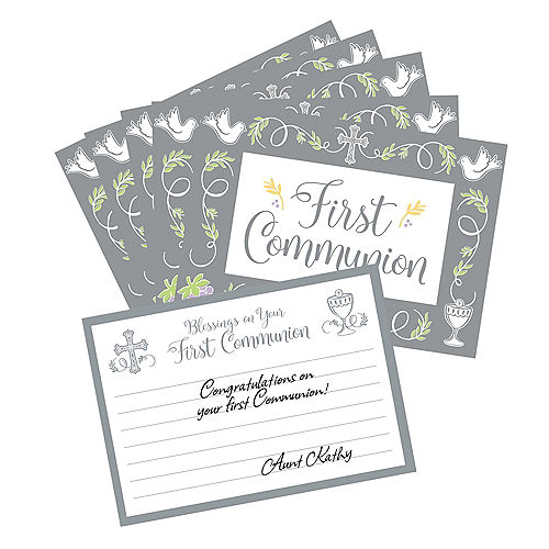 First Communion Blessing Cards 24ct Image #1
