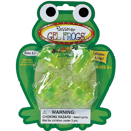 Passover Frogs 4ct Image #2