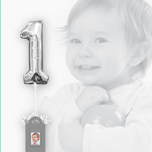 Create Your Own Silver Balloon Weight Centerpiece Image #2