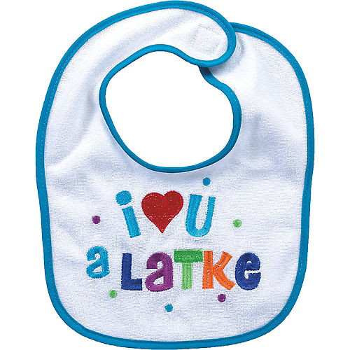 I Love You a Latke Bib Image #1