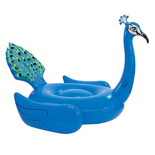 Giant Peacock Pool Float Image #1