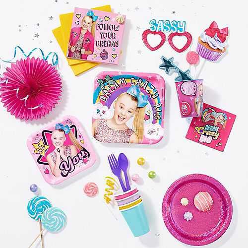 JoJo Siwa Lunch Plates 8ct Image #2