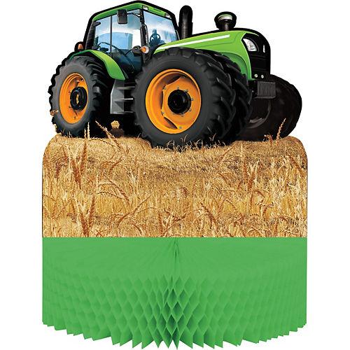 Tractor Honeycomb Centerpiece Image #1
