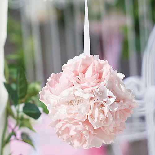 Pink Flower Ball Image #1