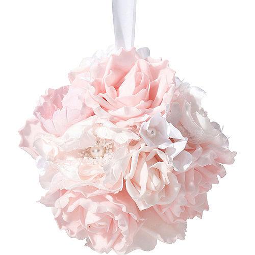 Pink Flower Ball Image #2