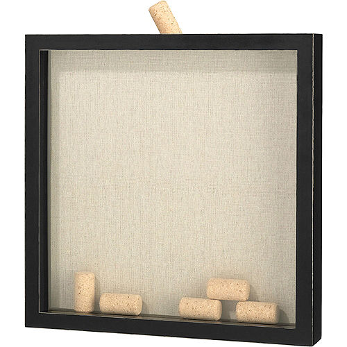 Signing Corks Shadow Box Frame Image #2