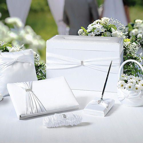 White Wedding in a Box 6pc Image #1