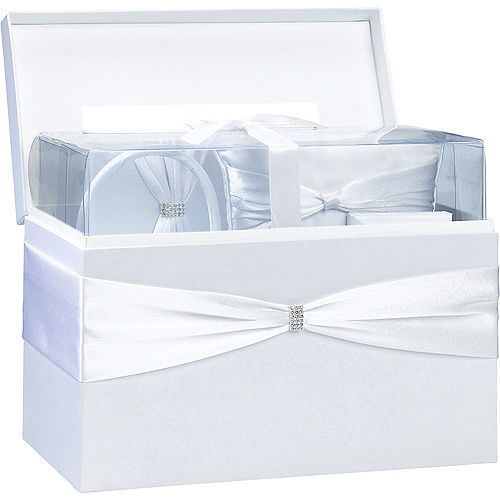White Wedding in a Box 6pc Image #2
