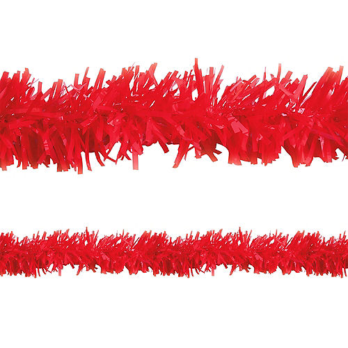 Red Twisted Fringe Garland Image #1