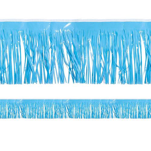 Light Blue Fringe Decoration Image #1