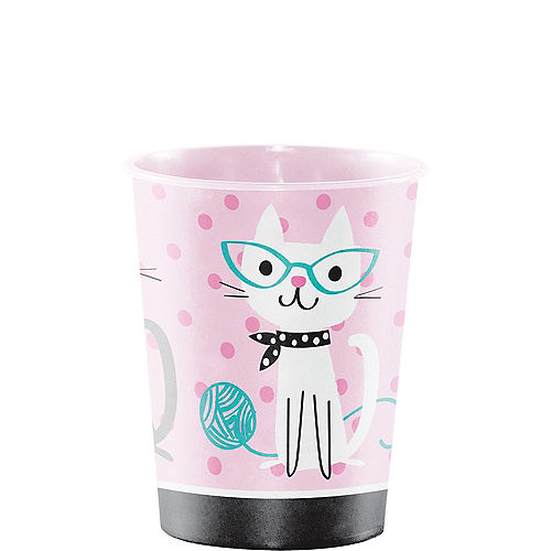 Purrfect Cat Favor Cup Image #1