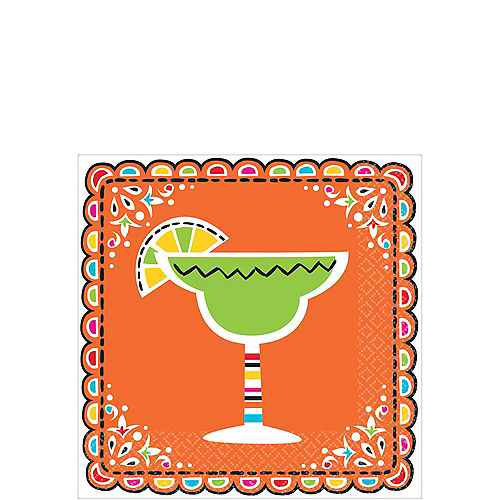 Fiesta Beverage Napkins 36ct Image #1