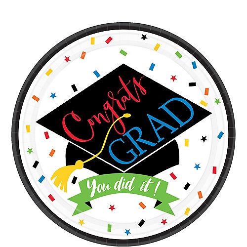 You Did It Grad Dessert Plates 60ct Image #1