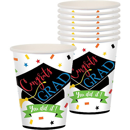 You Did It Grad Cups 50ct Image #1
