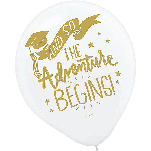 The Adventure Begins Balloons 15ct Image #5