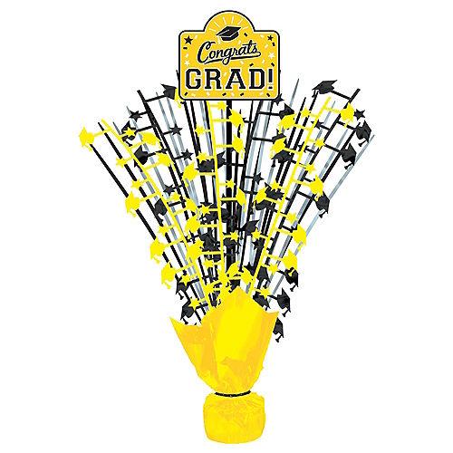 Yellow Congrats Grad Spray Centerpiece Image #1