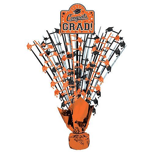 Orange Congrats Grad Spray Centerpiece Image #1