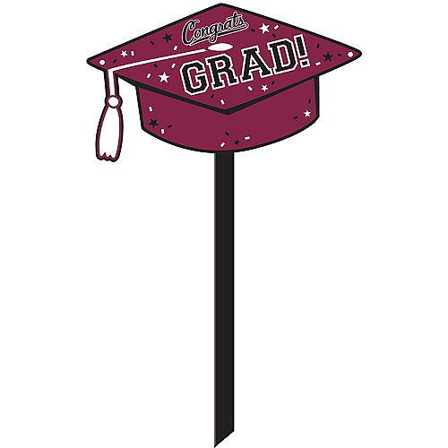 Berry Congrats Grad Yard Sign Image #1