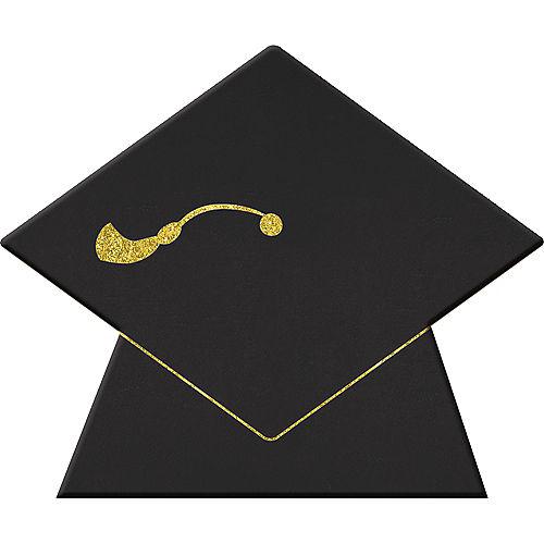 Graduation Chalkboard Label Stands 8ct Image #1