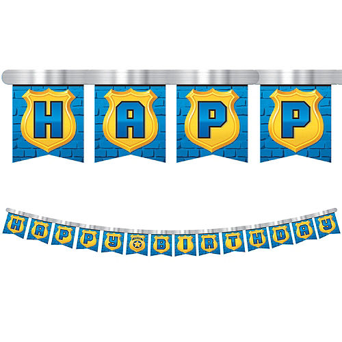 Police Birthday Banner Image #1