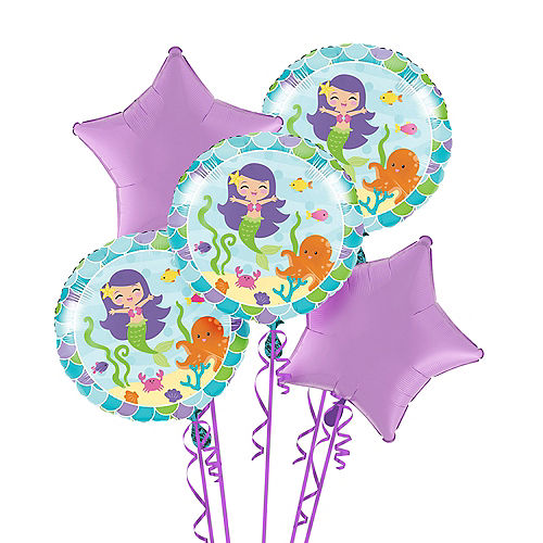 Mermaid Balloon Bouquet Image #1