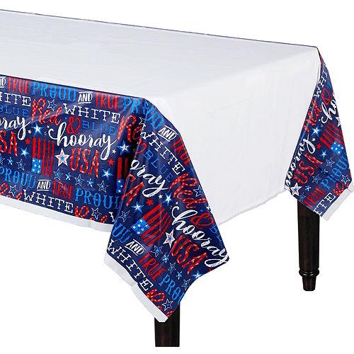 Patriotic Proud & True Table Cover Image #1