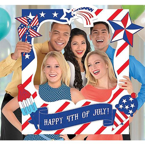 Giant Patriotic American Flag Photo Frame Kit Image #1
