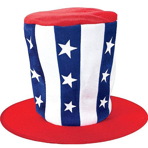 Tall Patriotic Top Hat Image #1