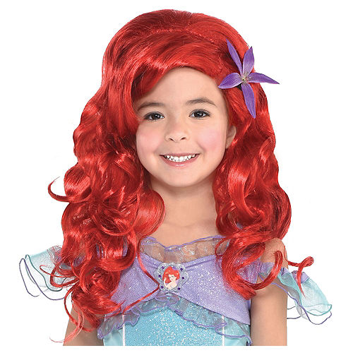 Child Long Ariel Wig - The Little Mermaid Image #1