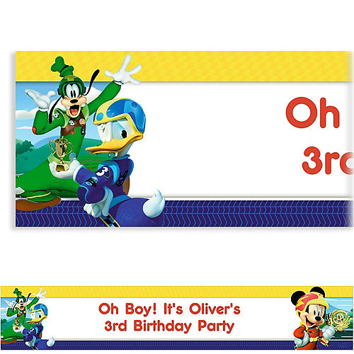 Custom Mickey & the Roadster Racers Banner Image #1