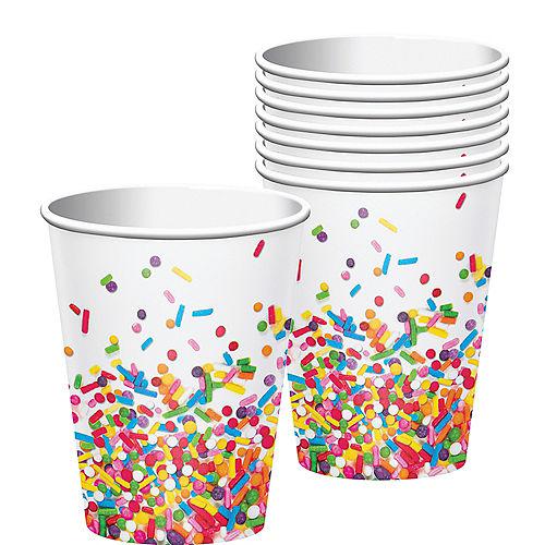 Rainbow Sprinkles Cups 8ct Image #1