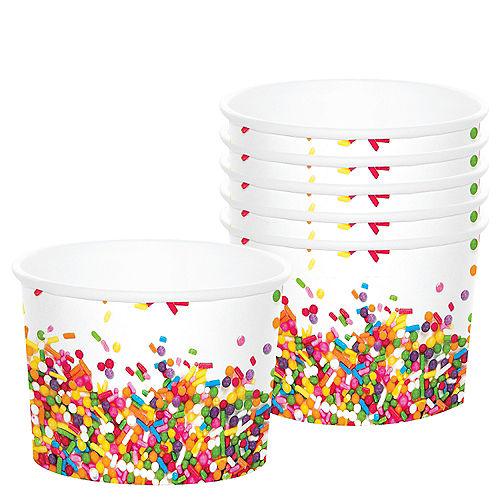 Rainbow Sprinkles Treat Cups 6ct Image #1