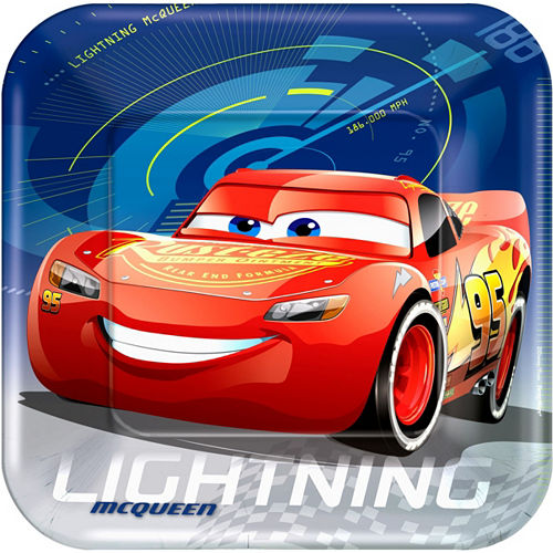 Cars 3 Tableware Party Kit for 8 Guests Image #3