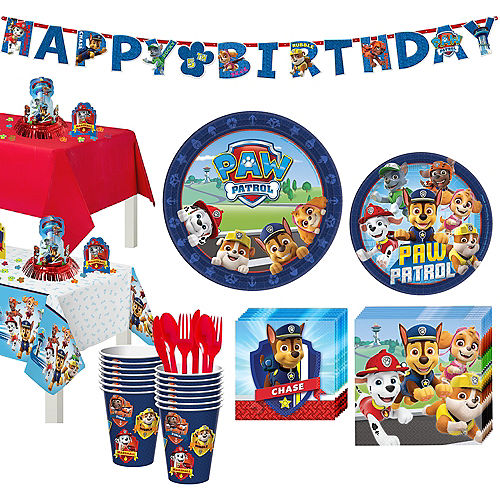 Paw Patrol Tableware Party Kit for 16 Guests Image #1