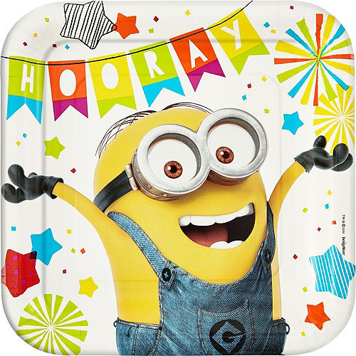 Minions Tableware Party Kit for 8 Guests Image #3
